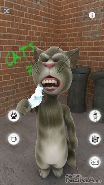 nokia 5230 games talking cat
