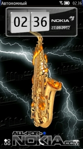 Sax In The Night by Lao Stia