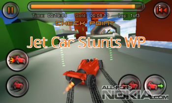 Jet Car Stunts WP