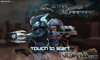 Загрузка игры Star Warfare: Alien invasion для Nokia