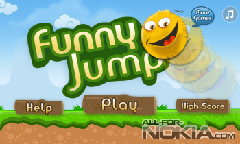 Funny Jump для Windows Phone - Главное меню