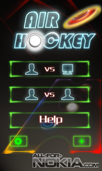 Air Hockey для Windows Phone - Выбор режима