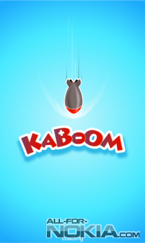 KaBoom для Windows Phone: логотип игры
