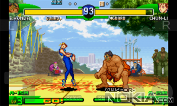 Street Fighter Alpha 3 - жаркие драки