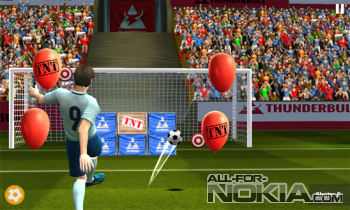 Football World Cup: Real Flick Soccer League 2015 - штрафные удары