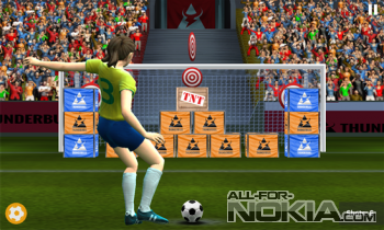 Football World Cup: Real Flick Soccer League 2015 - футбольное поле