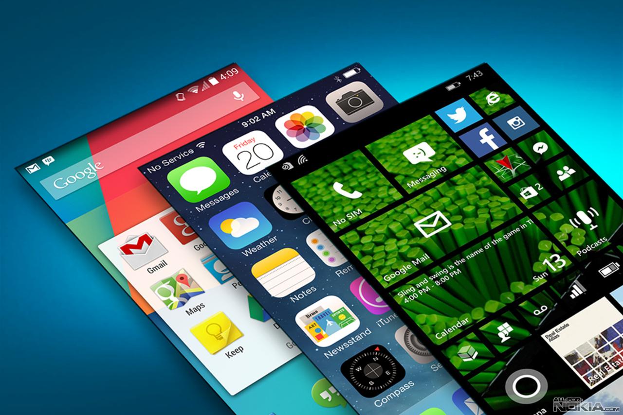 Дизайн как у ios на андроид