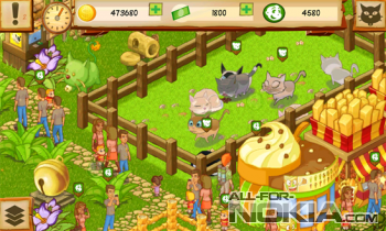 Cat Park Tycoon - сад